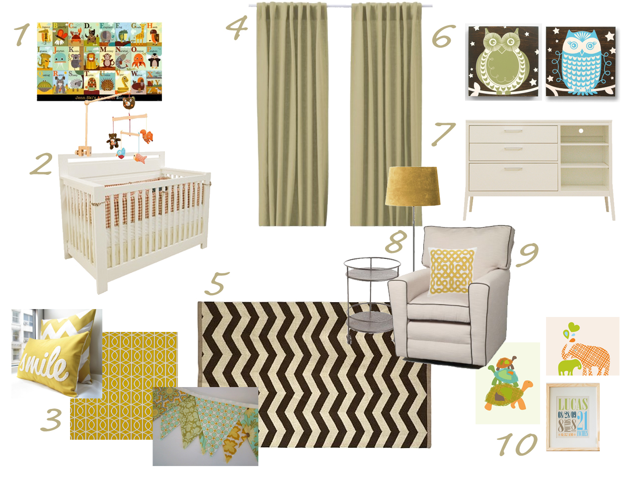 Pin by kate lewis on baby pinterest for Modern nursery images