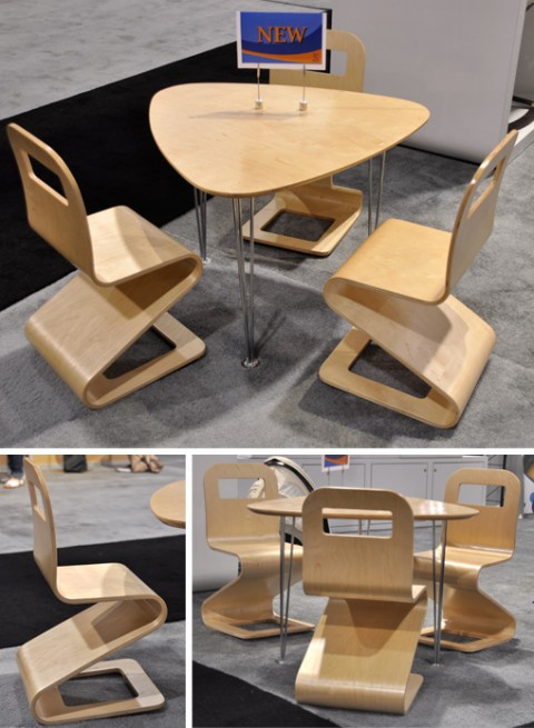 Table and Chair set from Scandinavian Child at ABC Kids Expo 2010