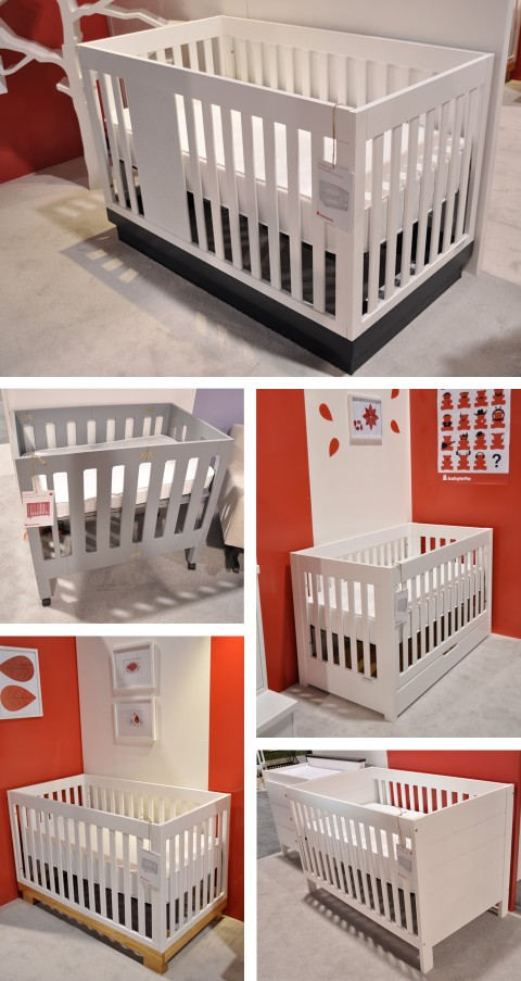 Mercer, Modo, Harlow, Modena and Grason Mini Crib