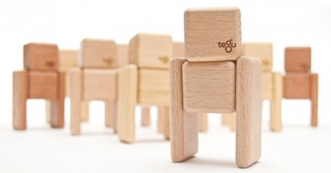 magnetic wooden blocks