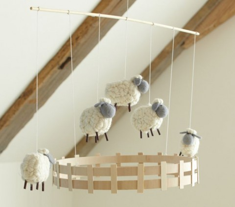 Adorable Mobiles From Pottery Barn Kids