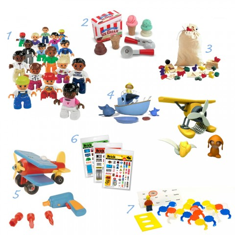 Lego Melissa &amp; Doug, Battat, Sprig, Guidecraft