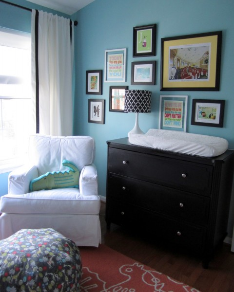 Real Room Tour Blue But Gender Neutral Modern Nursery