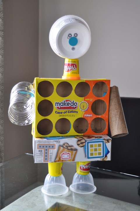 We makedo robots but you can makedo anything for Make something out of recycled materials