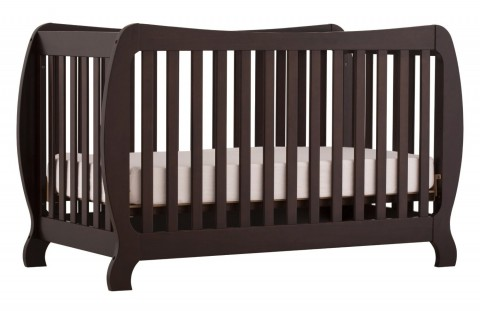 This Crib Is Obviously Designed To Turn Into A Full Sized Bed Down The  Road. Itu0027s Got A Bit Of A Bubbly Shape And While The Styling In Stork  Craftu0027s ...