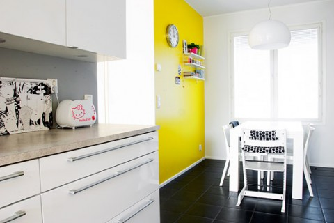 Outstanding Accent Wall In Kitchen Motif - Wall Art Collections ...