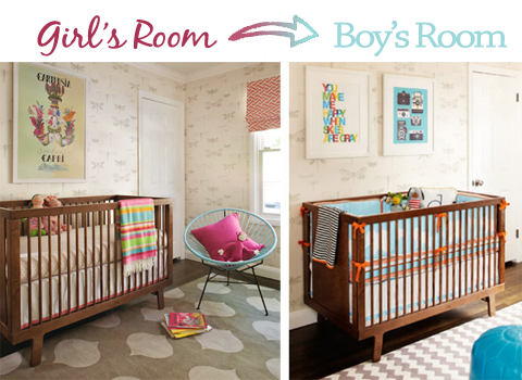 What If… You Had to Turn A Girl\'s Nursery Into a Boy\'s Nursery? «