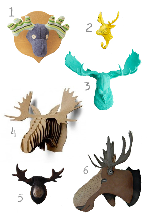 Pin cardboard moose head template pictures on pinterest - Fake stuffed moose head ...