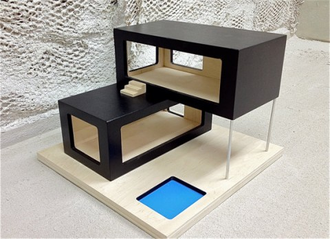 Etsy Find Modern Dollhouse From New8th Furniture