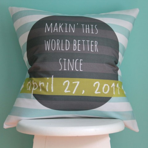 New Pillows And Quilts From Iviebaby Buymodernbaby