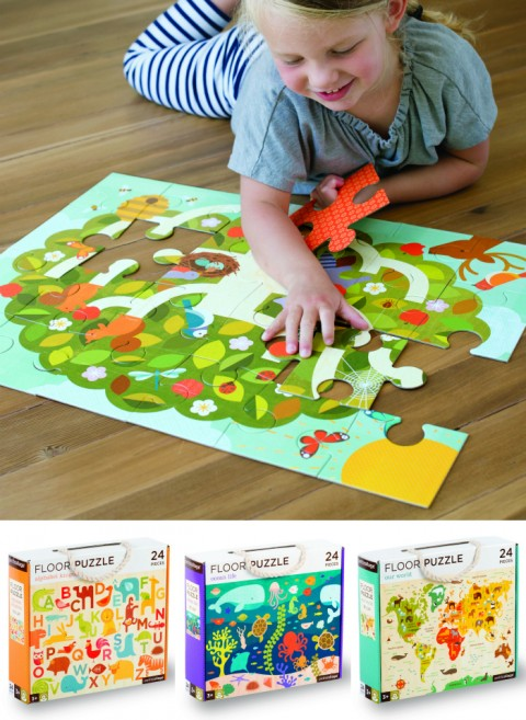 Petit Collage Floor Puzzles
