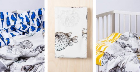 mini-rodini-home-collection-bedding-puffer-fish-parrot