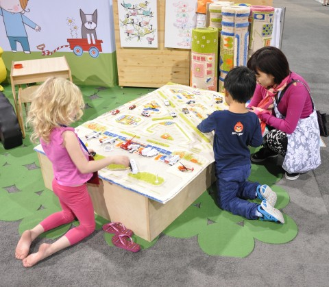 Luca and Company Play Carpet abc kids expo 2013