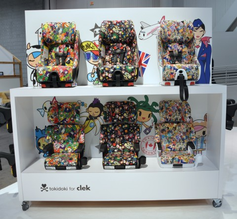 Clek Tokidoki Special Edition Car Seats and Boosters