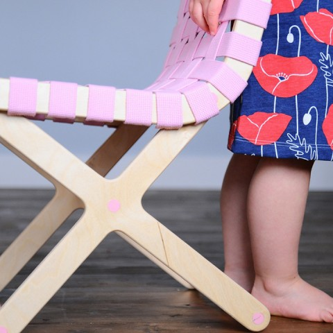 twig creative child's chair