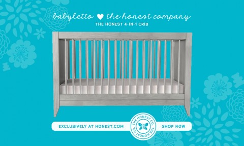 The Honest Crib - Babyletto + The Honest Co.