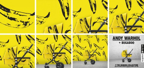 Bugaboo + Andy Warhol Banana collection