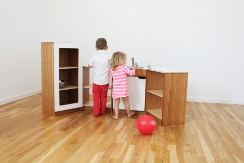 North Forty Design Play Kitchen Bamboo 1