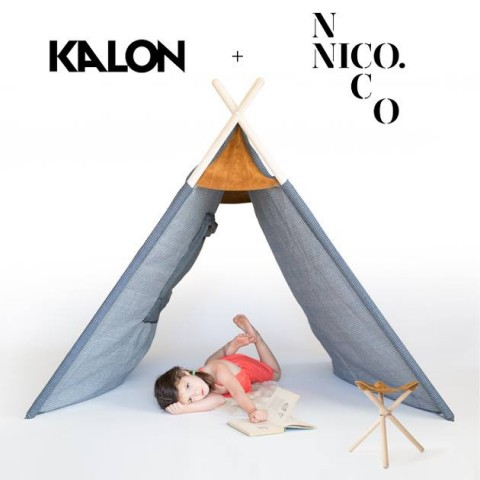 Kalon Studios + Nico Nico tent and stool