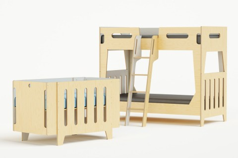 starting with the luna crib 800 with a few additional parts the crib transforms into a toddler bed twin bed and even into a bunk bed casa kids nursery furniture