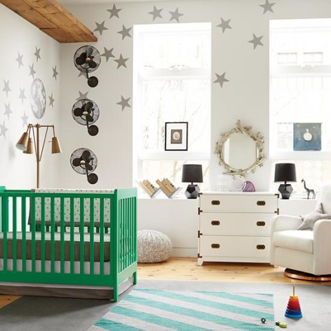 carousel-crib-kelly-green
