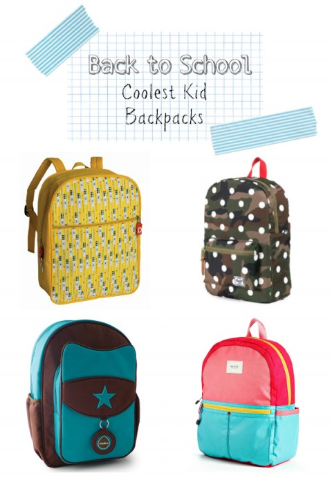 Cool Toddler Kids Preschool Backpacks