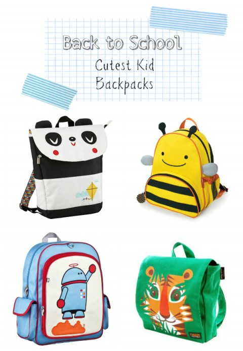 Cute Toddler Kids Preschool Backpacks