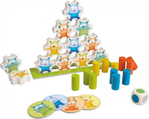 Mini Monsters Stacking Game Haba