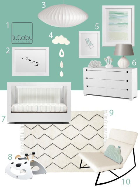 My Modern Nursery 87: Joyful Green