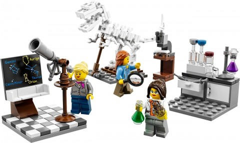 lego science minifigures