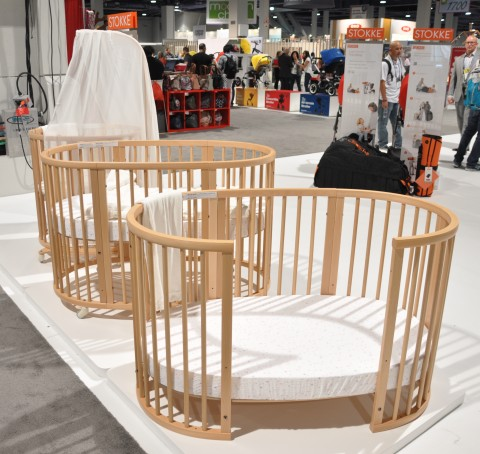 Aden + Anais bedding for the Stokke Sleepi