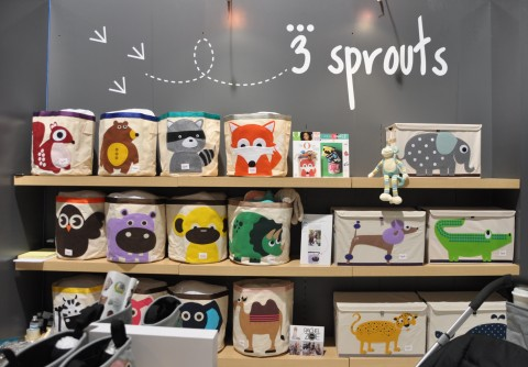 3 Sprouts booth at ABC Kids Expo 2014