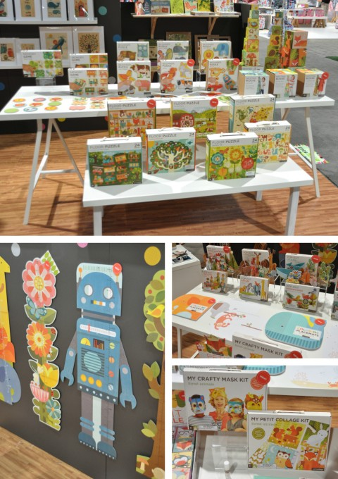 Petit Collage at abc kids expo 2014