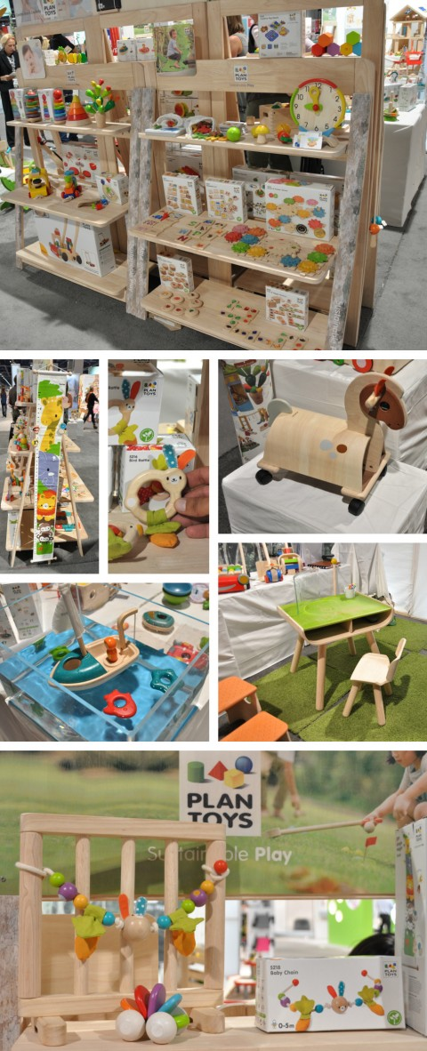 Plan Toys at abc kids expo 2014