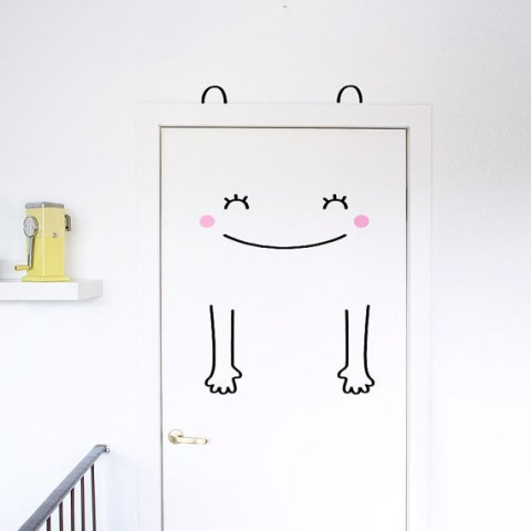 Frida the Friendly Door Decal from Made of Sundays