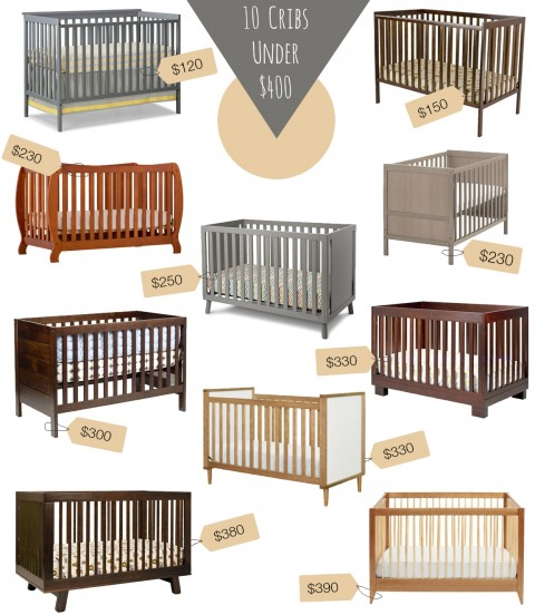 10 Cribs Under 400 price tags