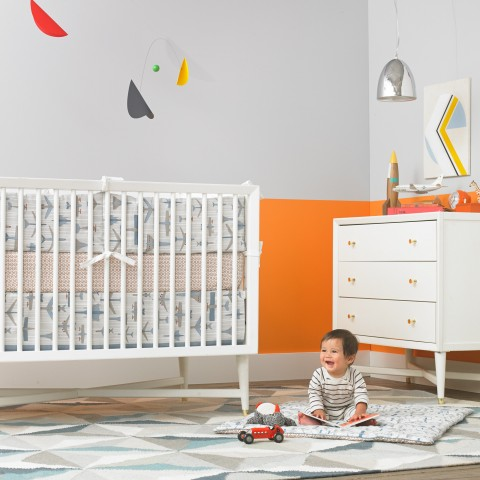 DwellStudio-Flight-Canvas-Crib-Skirt