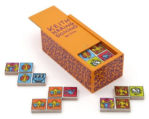 Keith Haring Dominoes Orange