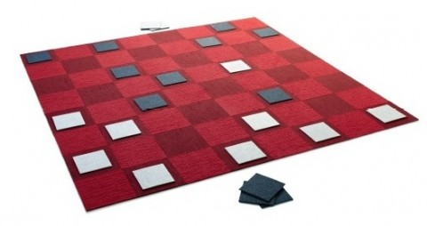 Checkers Area Rug