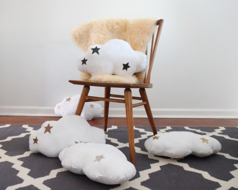 New Cloud Pillows from Baby Jives Co