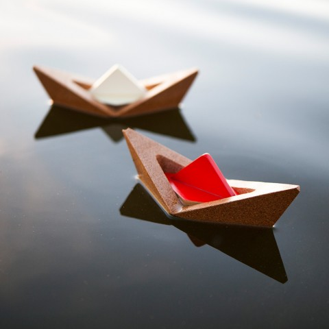 The Knotical — Origami Nesting Boat