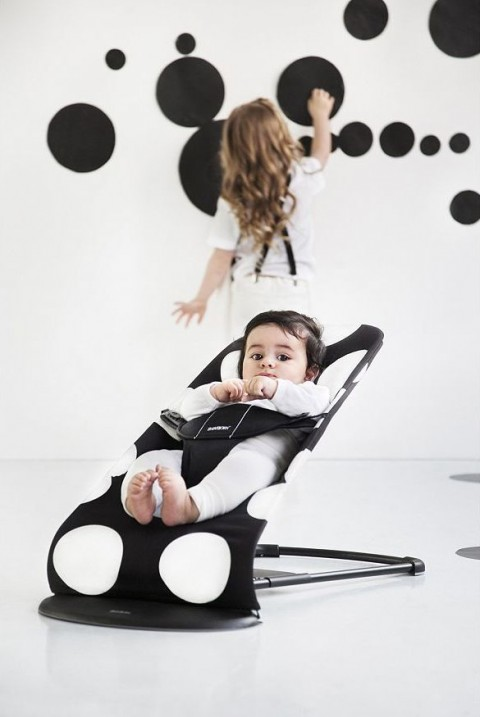 BabyBjorn Bouncer Balance Soft - Dots