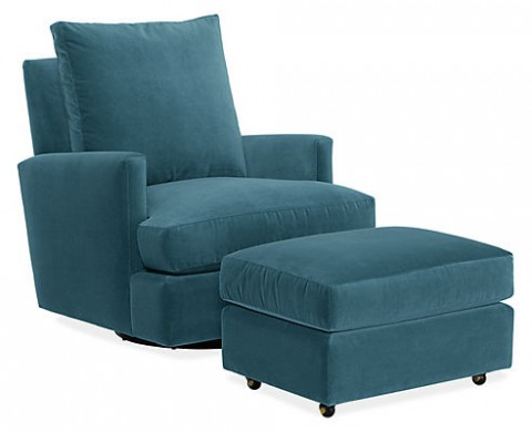 Colton Swivel Glider