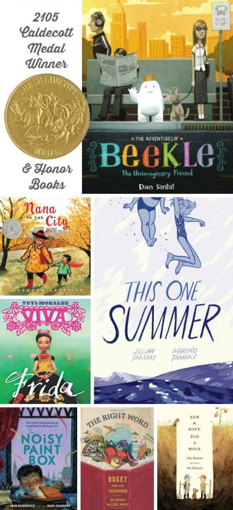 Caldecott Medal Winner and Honor Books 2015