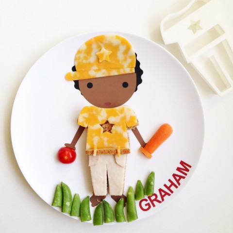 Customized Dress Up Plates from Little Me