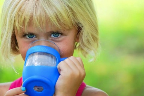 kupp' a drinking glass for kids