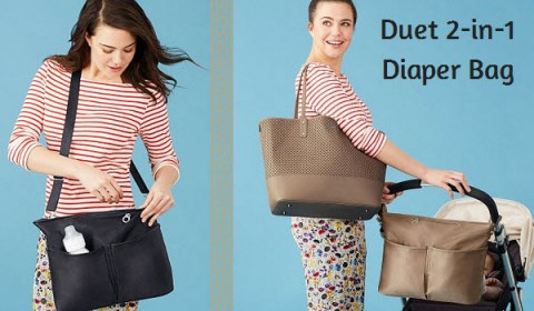 Skip Hop Duet Diaper Bag