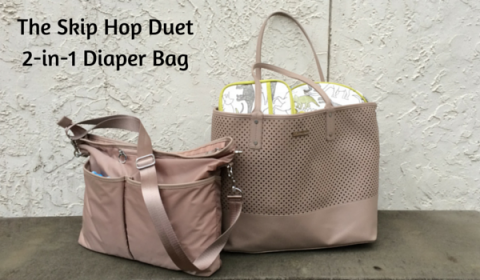 Skip Hop Duet Diaper Bag 2-in-1