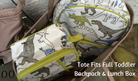 Skip Hop Duet Diaper Bag loaded up