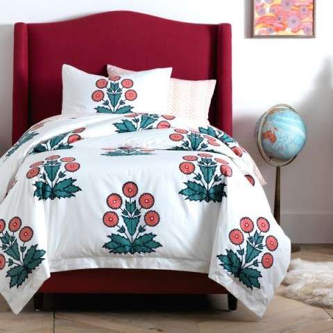 DwellStudio-Daisy-Block-Print-Duvet-Set
